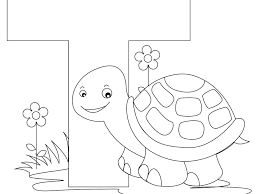 Letter T Coloring Pages Printable Free Coloring Books