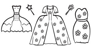 Small Picture Pretty Dresses Coloring Book Coloring Pages Kids Fun Art