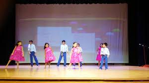 Kids Stage Performance on Telugu Night