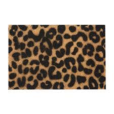 Buy Artsy Doormats Leopard Door Mat   Amara