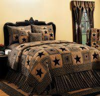 25 best Country bedding images on Pinterest | Bedroom designs ... & Vintage Star Country Bedding Sets - Vintage Star Queen Size Quilt Adamdwight.com