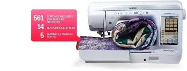 Home Sewing and Quilting Machines | Brother DreamCreator™ & ... (QUILTING & SEWING MACHINE). 561 Stitches Included (531 Built-in, 30 on  CD); 14 Buttonholes ... Adamdwight.com