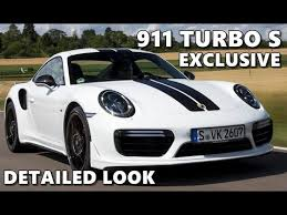 2018 porsche turbo s exclusive. delighful 2018 porsche 911 turbo s exclusive series  detail shots with 2018 porsche turbo s exclusive