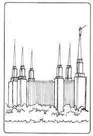 Small Picture LDS Temple Coloring Page LDS Coloring Pages Pinterest Lds