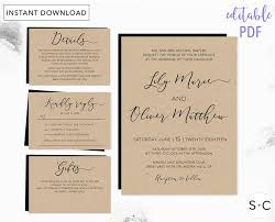 24 best greenery wedding images on pinterest marriage, botanical Michael Kors Wedding Invitations this loose calligraphy rustic wedding invitation set includes five high resolution templates they are Walmart Wedding Invitations