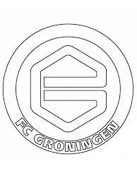 Kids N Fun Kleurplaat Voetbalclubs Nederland Groningen