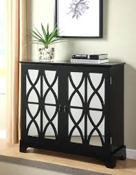 mirrored console cabinets console cabinet with mirrored glass doors in black