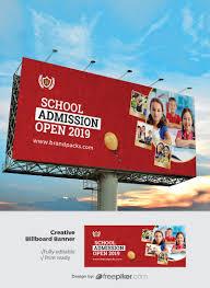 School Billboard Design Freepiker Junior School Eudcation Billboard Banner