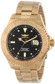 invicta men s 15286 pro diver 18k yellow gold ion plated invicta men s 15286 pro diver 18k yellow gold ion plated stainless steel and diamond accent watch bossman watches