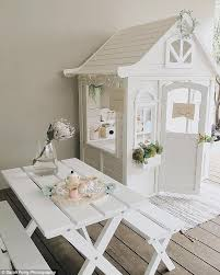 cubby house furniture. But Instead Of Leaving It As Was, The Fashion And Lifestyle Blogger Her Cubby House Furniture
