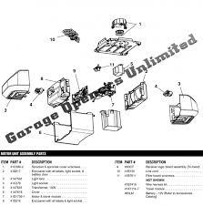 garage door opener replacement parts liftmaster 8550