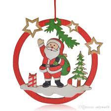 Großhandel Christbaumschmuck Weihnachtsmann Weihnachtsbaum Hängender Schneemann Weihnachtsfest Dekoration Versorgungsmaterialien Des Großhandels Von
