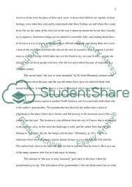 deepening essay lost in translation and the way to rainy mountain   the way to rainy mountain essay example text preview