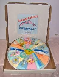Diaper Pizza Pastel. Homemade Baby GiftsCool ...