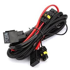 amazon com kensun hid conversion kit single beam relay wiring 9006 Hid With Relay Wiring Diagram kensun hid conversion kit single beam relay wiring harness 9005 9006 HID Headlight Wiring Diagram