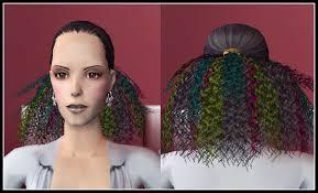 Sims 2 účesy Pro Holky Móda