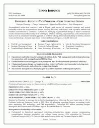 Executive Resume Cover Letter Sample Executive Resume Example 100 Images Sample Cover Letter Sample 52
