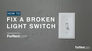 How To Fix Light How To Fix A Broken Light Switch