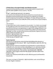 Philippines social issue position paper philippines social issue position paper. Position Paper Docx A Position Paper On War Against Drug Of President Rodrigo Duterte Introduction It Has Been Two Years Since Duterte Became Course Hero