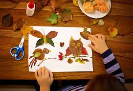 leaf art and craft ideas for kids
