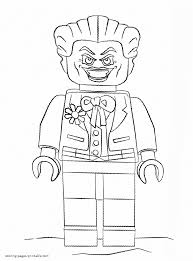 Joker has long been a staple of the batman dc series. Joker Coloring Page Coloring Pages Printable Com