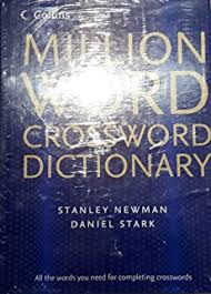 by stanley newman collins million word crossword dictionary first 1st edition hardcover