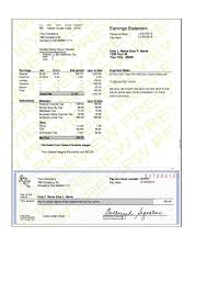 Sample Check Stub Payroll Statement Template And Modern Pay Stub Sample Paycheck Stub