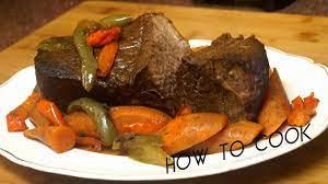 bag pot roast beef recipe