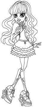 Monster High Coloring Pages Twyla Google