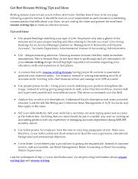 Resume Tips For Unemployed Resume For Study