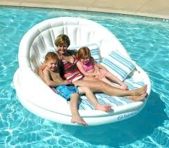 floating chairs for pools inflatable lounge chair pool lounges double recliner float