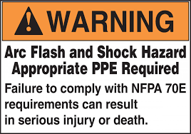 Nfpa 70e Ppe Chart Ansi Warning Arc Flash Protection Labels On A Roll Arc Flash Shock Hazard Appropriate Ppe Required Nfpa 70e
