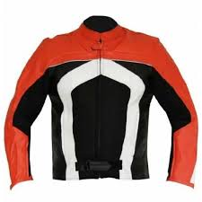 details about new mens multicolor motorbike motorcycle cowhide leather jacket safety pads