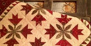 Stunning Idaho Lily Quilt for Your Table or Wall - Quilting Digest & Idaho Lily Quilt Pattern Adamdwight.com