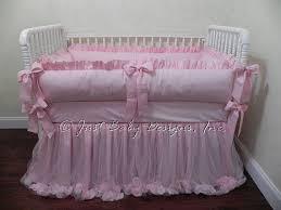pink crib bedding set baby girl bedding