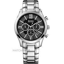 men s hugo boss ambassador exclusive chronograph watch 1513196 mens hugo boss ambassador exclusive chronograph watch 1513196