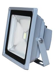 50w led outdoor security flood light construction work site