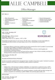 Office Manager Duties For Resume 42 Best Of Sample Resume For