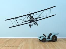 biplane wall art