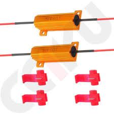 Fix License Plate Light Amazon Com Cciyu 2 Pcs 50w 6 Ohm Led Load Resistors