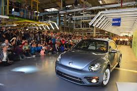 Volkswagen Car With Screw Light Bye Bye Bug The Vw Beetle Is Officially Out Of Production
