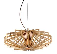 ufo timber wood pendant lamp loading zoom wood pendant light fixture15