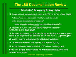 30 the lss doentation review