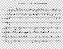 Sheet Music Violin Theme Music Trumpet Trombone Png Clipart