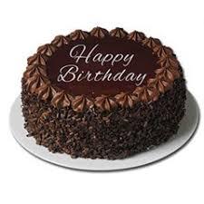 happy birthday choco cake