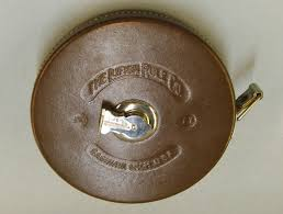 Nevada State Museum, Las Vegas - Tape measure made by The Lufkin Rule Co.  100ft, leather case with nickel trimmings. VM-2009-013-053a Ida Kelley, Ida  Browder Collection | Facebook