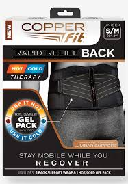 Copper Fit Rapid Relief Back Brace Big And Tall