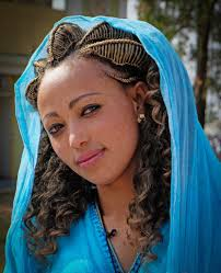 Pretty Woman Hair Style young ethiopian woman wearing traditional dress and hairstyle 7696 by wearticles.com