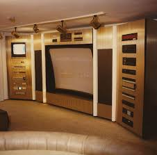 home theater in living room charming white brown wood cool design living room home theatre tv beau