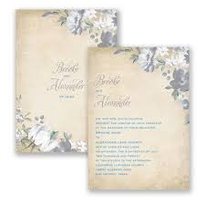 the 25 best wedding invitations canada ideas on pinterest diy Wedding Invitations Halifax Uk blissful blooms wedding invitation floral, distressed, antique at invitations by david's bridal Elegant Wedding Invitations